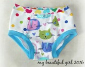 Size 5/6 Kitty Dots Undies - INSTOCK