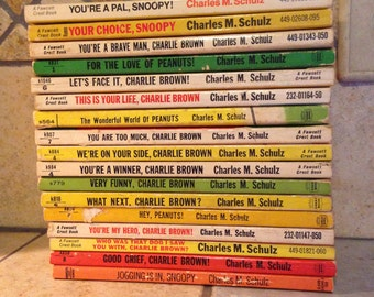 Instant Collection of 17 Peanuts Books