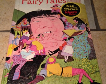 1971 Famous Fairy Tales Children's Book by Whitman