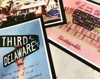 All 3 Roseanne Prints