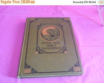 2 DAY SALE Childrens nature and outdoor life BOYS And Girls Bookshelf Book The University Society New York 1912