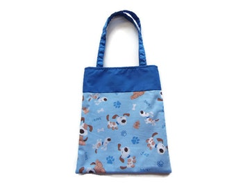 Fabric Dog Gift/Goodie Bag - Dogs