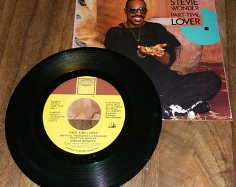 Stevie Wonder Part Time Lover 45 RPM Record Maxi Single