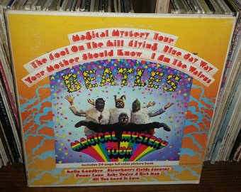 The Beatles Magical Mystery Tour Vintage Vinyl Record
