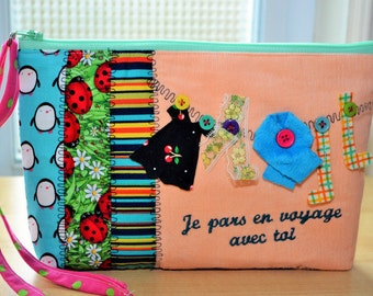 Kit, wallet, bag, makeup, pencil, Transportation