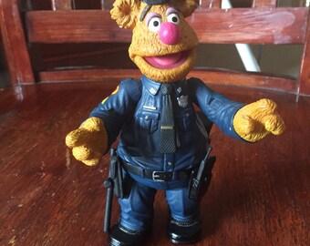 Fozzie Bear police figurine