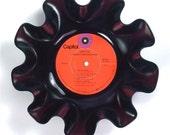 Grand Funk Railroad Vinyl Record Bowl Vintage LP Album 1971 (Survival) Red Label
