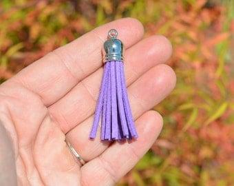 1 Purple Tassel Charm SC3179
