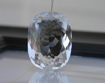 Large Crystal Quartz Fancy Oval Cut