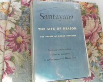 Santayana The Life of Reason   1953