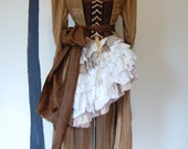 Gypsy Steampunk pirate Victorian jacket skirt top