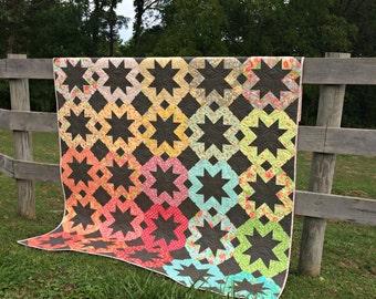Starflakes PDF Quilt Pattern #112