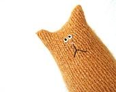 Tiny Stuffed Cat Doll - Stuffed Animal Cat - Orange Cat - Cat Lover Gift - Child Soft Toy - Plush Toy Cat - Stuffed Toy - Orange Kitten Doll