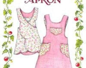 Scalloped Apron Pattern from The Paisley Pincushion