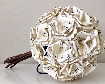Grace Sheet Music Paper Bouquet