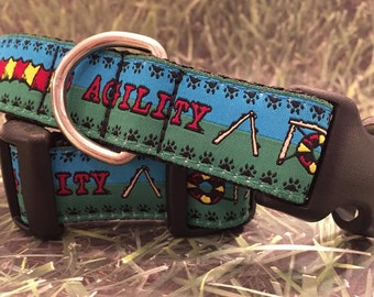 Agility Dog Collar - In Size L