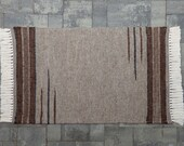 Hand Woven 30 in. x 48 in. Llama Rug (#M2)