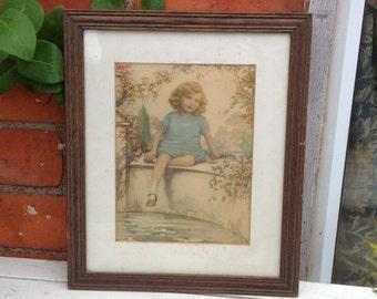Vintage 1930s Framed Print
