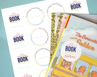 Really Awesome Book Labels - Set of 20 Stickers
