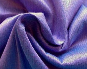Periwinkle Blue Dupioni Silk Fabric Fat Quarter, Bridesmaid Dress Fabric, Blue Indian Silk Fabric, Indian Fabrics, Curtain Drapery Material