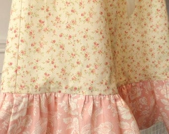 "Nightgown Or Dress ""Rosebuds In Time A Classic"" Custom Girls Sizes 8,10 Girls  ""Trailing Hearts""  Flannel Or Cotton betrueoriginals"