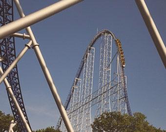 Cedar Point Millennium Force Roller Coaster Print