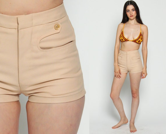 60s high waisted shorts