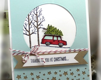 Stampin' Up Thinking of You at Christmas Card