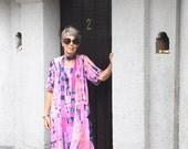 Wayan Swing Dress, Bali Batik, Rayon, Sizes XS- 2X, My Bali Closet