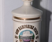 1974 Royal Halburton New Hampshire Liquor Decanter Live Free or Die