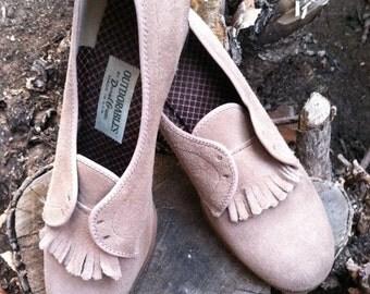 Vintage, Suede Shoes Size 6