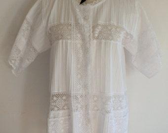 Lace Dress Vintage White