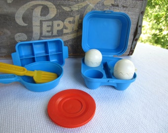 Vintage Fisher Price Ice Cube Tray Egg Carton