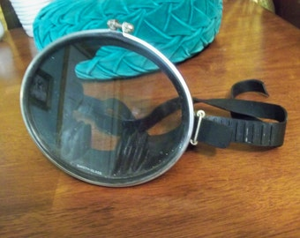 caravelle scuba mask vintage made in france