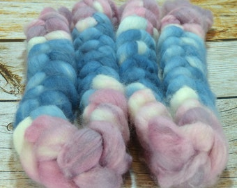 Country Kitchen/ Handpainted SW Merino Combed Top/ 4 oz.
