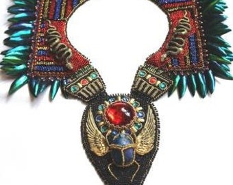 """Nefertiti""""s Necklace - """"The Beautiful One Has Come"""" in Anderson Artist Show"""