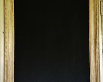 Vintage French Frame Chalkboard