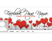 Valentine's Day Facebook Timeline Cover - PS4