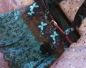 Ho Bo Bag, Embellished Purse, Hippy Bag, Gypsy Purse by mystic2awesome