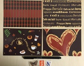 Coffee Art Postcards - Set of 4