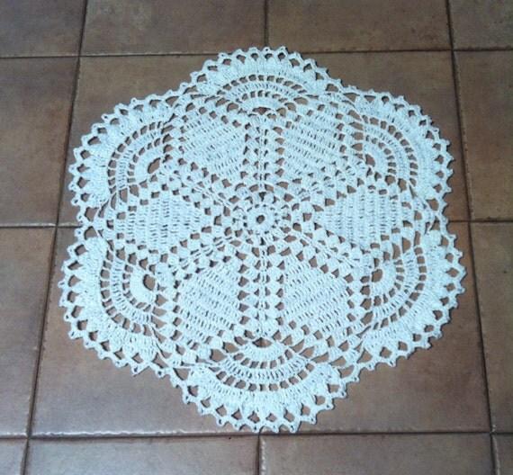 Crochet Grocery Bag Mat Pattern : CR-6. Free shipping worldwide Crochet rug-6. Crochet Rug