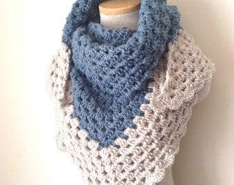 Crochet Scarf Shawl Neckwarmer