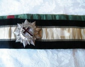 Masonic Sash  with two medals Knights Templar