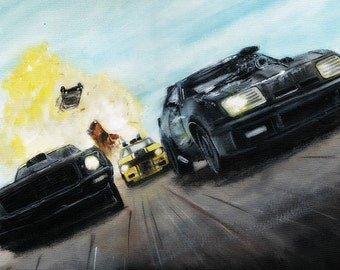 Mad Max Limited Edition Art Print