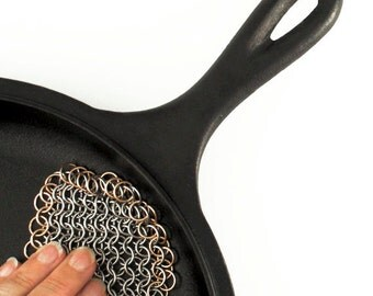 Half Price Sale Dragon's Breath Pot Scrubber - Chainmaille Kit or Ready Made -  European 4 in 1 - Great Gift