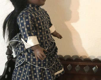 1870's Bustle Dress for 18 inch doll