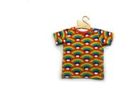 Rainbow Organic cotton baby t-shirt, baby tee, baby clothes, toddler t-shirt