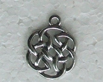 Celtic Knot Charm Comes with Free Jump Ring