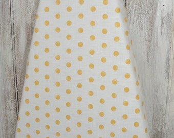 Ironing Board Cover - Dots in Yellow
