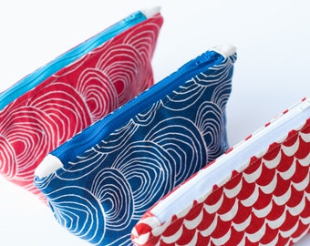 Zipperpouch / Pouch / Cosmeticbag / Zippouch / Purse / Clutch / Cosmetics /